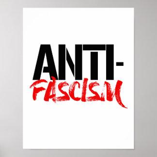 Poster Anti-Fascisme -