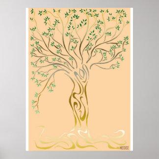 Poster Arbre de vie (Tree of Life)