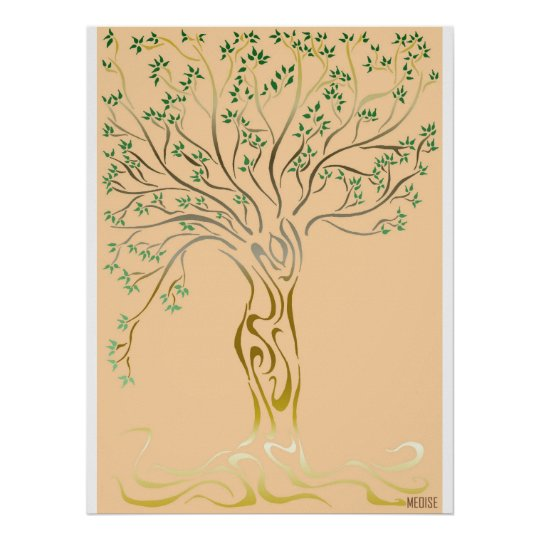Poster Arbre de vie (Tree of Life)