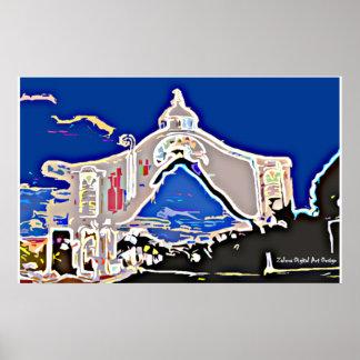 Poster Arc de Sainte Rosée - Barquisimeto by Zalera