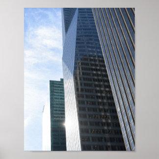 Poster Architecture NYC de Salut-Hausse de photographie