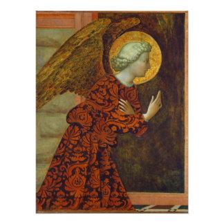 Poster Arkhangel Gabriel, C. 1430 (tempera sur le panneau