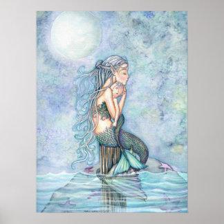 Poster Arrose toujours la mère de sirène et l'affiche de