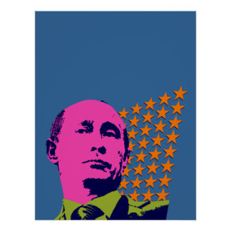 Poster Art de bruit Vladimir Poutine