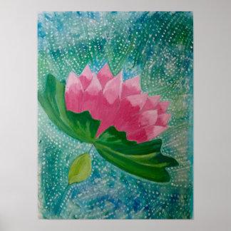 Poster Art de fleur