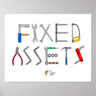 Poster Art drôle d'affiche de comptabilité
