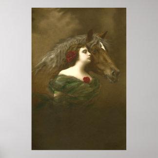Poster Art équin européen 1 de photo