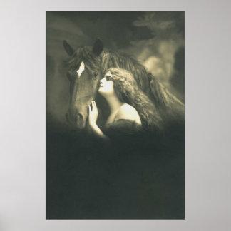 Poster Art équin européen 2 de photo