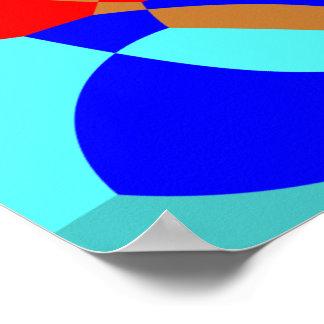 Poster Art moderne géométrique