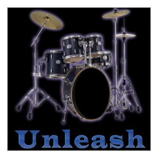 Poster Art réglé d'affiches de tambour