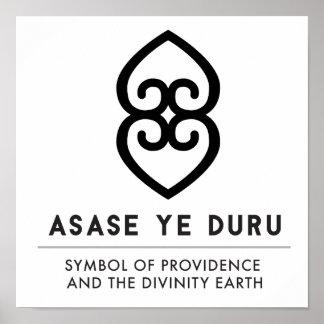 Poster ASASE YE DURU | Providence et la terre de divinité