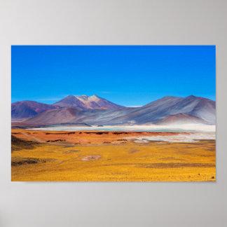 Poster Atacama Salt Lake