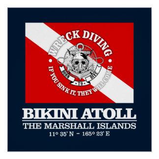 Poster Atoll de bikini (les meilleures épaves)