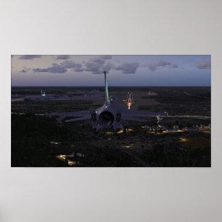 Poster Atterrissage F-16 (FSX)