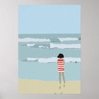 Poster Au delà de la mer