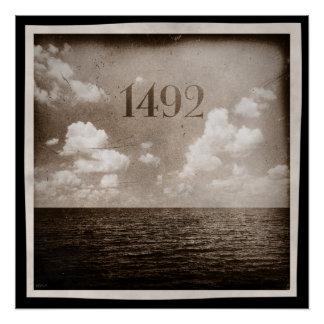 Poster Au delà de l'horizon