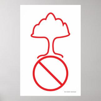 Poster Aucunes armes nucléaires