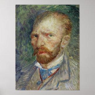 Poster Autoportrait de Vincent van Gogh |, 1887