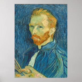 Poster Autoportrait de Vincent van Gogh |, 1889