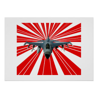 Poster Avion de chasse