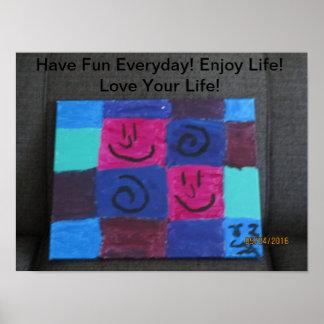 Poster Ayez l'amusement quotidien !
