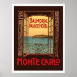 Poster Balmoral Palace Hotel (Monte Carlo)
