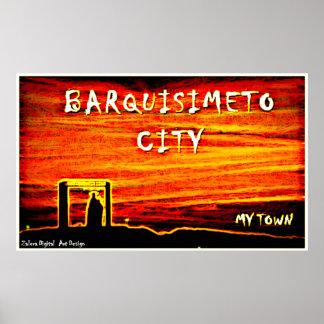 Poster Barquisimeto - My Town by Zalera.