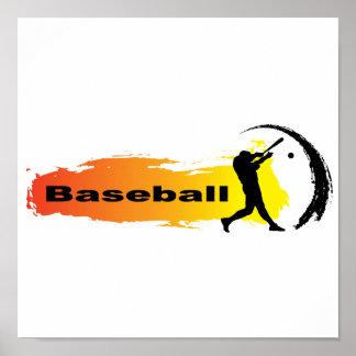 Poster Base-ball unique