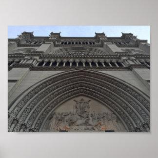 Poster Basilique de cathédrale de l'hypothèse