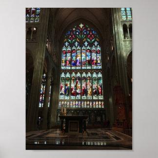 Poster Basilique de cathédrale de l'hypothèse, grande