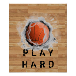 Poster Basket-ball