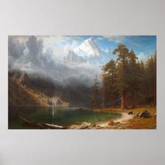 Poster Bâti Corcoran par Albert Bierstadt