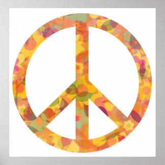 Poster Beauté de paix