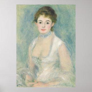Poster Beaux-arts de Madame Henriot Portrait de Renoir