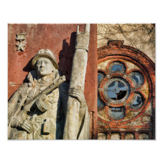 Poster Beelitz, mémorial russe 1,0