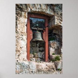 Poster Bell au fort de St Michael, Croatie