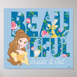 Poster Belle | Beautfiul à l'intérieur et