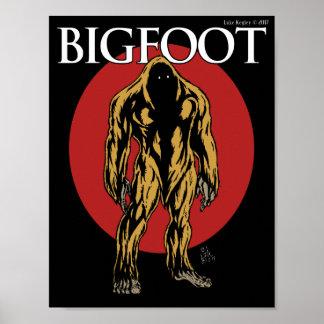 Poster Bigfoot