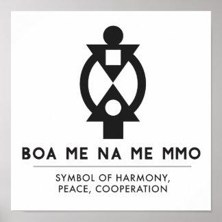 Poster BOA JE Na JE coopération et interdépendance de MMO