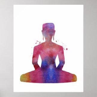 Poster Bouddha