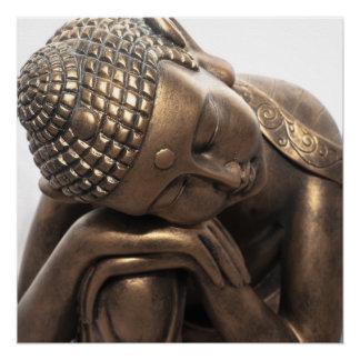Poster Bouddha de repos