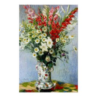 Poster Bouquet de Gladiolas