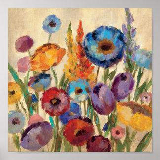 Poster Bouquet des fleurs