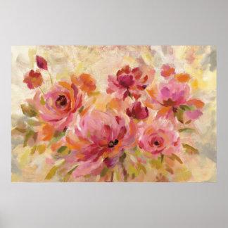 Poster Bouquet des roses
