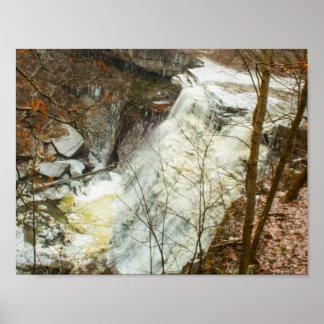Poster Brandywine tombe en hiver, Ohio