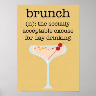 Poster Brunch social
