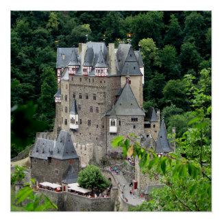Poster Burg Eltz, Allemagne
