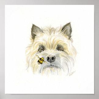 Poster Cairn Terrier d'Abeille-utiful