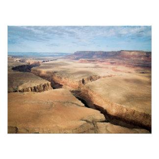 Poster Canyon dans le canyon