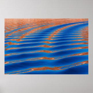 Poster Canyon de gorge de Powell | de lac, UT